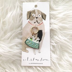 JUST IN! Sit, Stay, Love Dog Charm